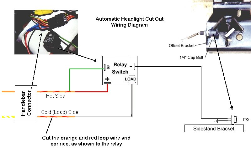 wiring automatic headlight switch bike horn cutout wiring diagram at mifinder.co